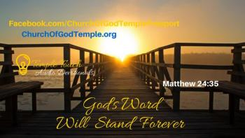 God's Word Will Stand Forever
