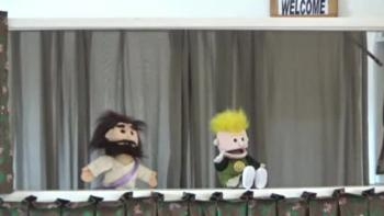 4/9/17 Puppet Skit