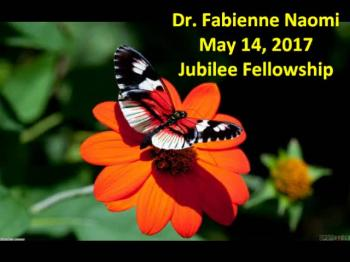 Dr Fabienne Naomi May 14 2017