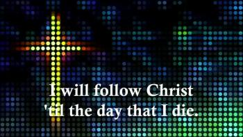 Heath Bewley - I Will Follow Christ (Lyric Video With Animation) - Christian Music Video