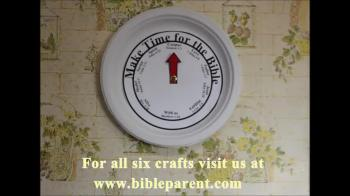 Bible memory clock for families