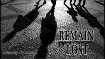 REMAIN LOST