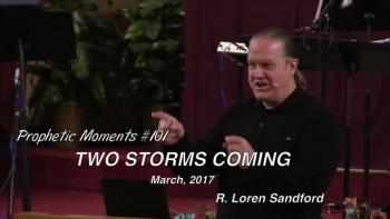 TWO STORMS COMING - R. Loren Sandford