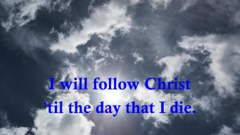 Heath Bewley - I Will Follow Christ (Lyric Video With Animation)