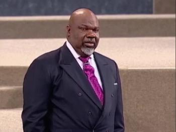 TD Jakes — The God of the Night Before