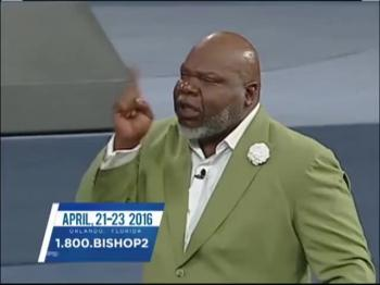TD Jakes — Faith Is an Equalizier
