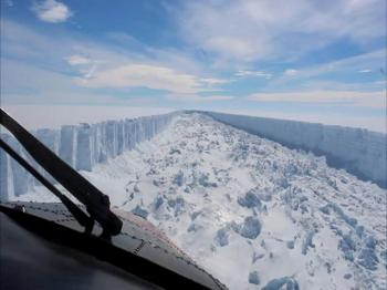 Antarctica Ice Shelf Collapses