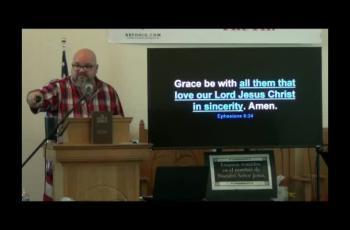The Humanity of Paul (Ephesians 6:19-24) 2 of 2