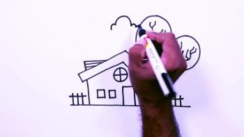 House Drawing - Step By Step