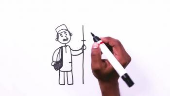 Cartoon Drawings - How to Draw Balloon Man