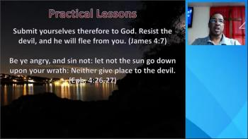 Saul and the Evil Spirit FROM the Lord