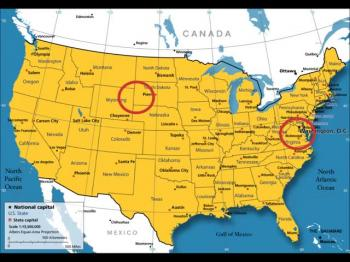 The Mountain and Central States of the USA