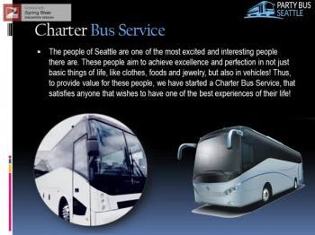 Party Bus Seattle Rental