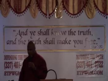 Pastor Walker - Let Your Faith Fail You Not - October 6, 2017