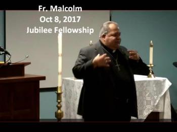 Fr Malcolm Oct 8 2017