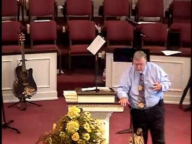 8-11-13 AM Sermon