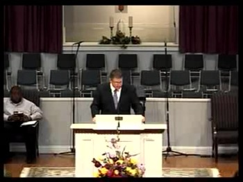 Dr. David Bailey's Inaugural Sermon