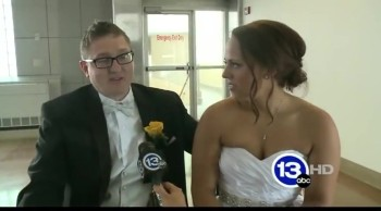 A Paralyzed Bride Stood Up and Walked at Her Wedding - WOW