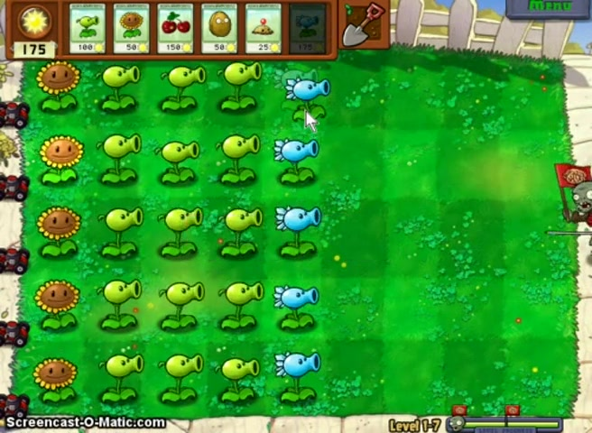 lets play plants vs. zombies part 5