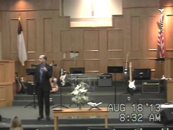 Spanish Service at United Baptist Church on 8-18-13