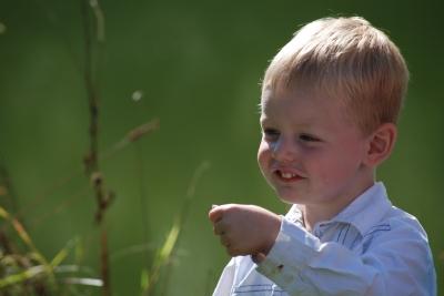 Little boy.