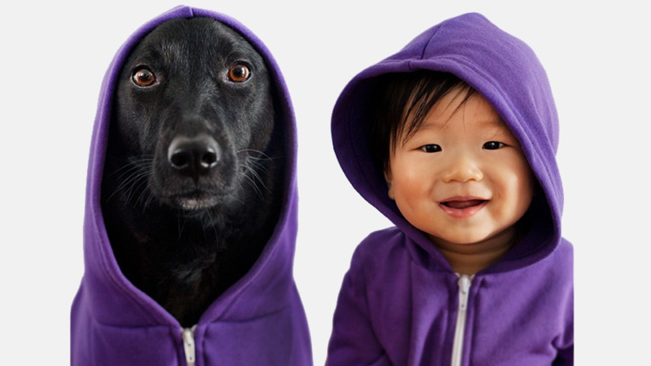 They wear the coolest purple hoodies.
