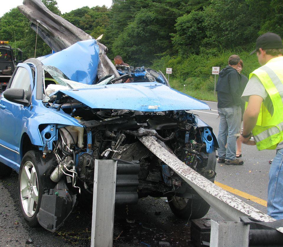 This Horrific Car Wreck Looks Deadly. But Divine