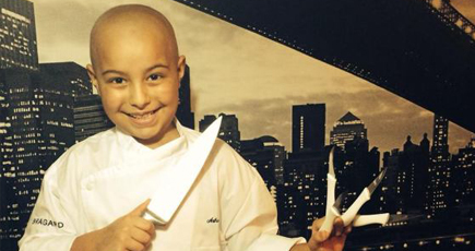 Young Chef Cooks Up Positivity