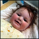 Baby Thinks Her Daddy Saying STOP is Hilarious