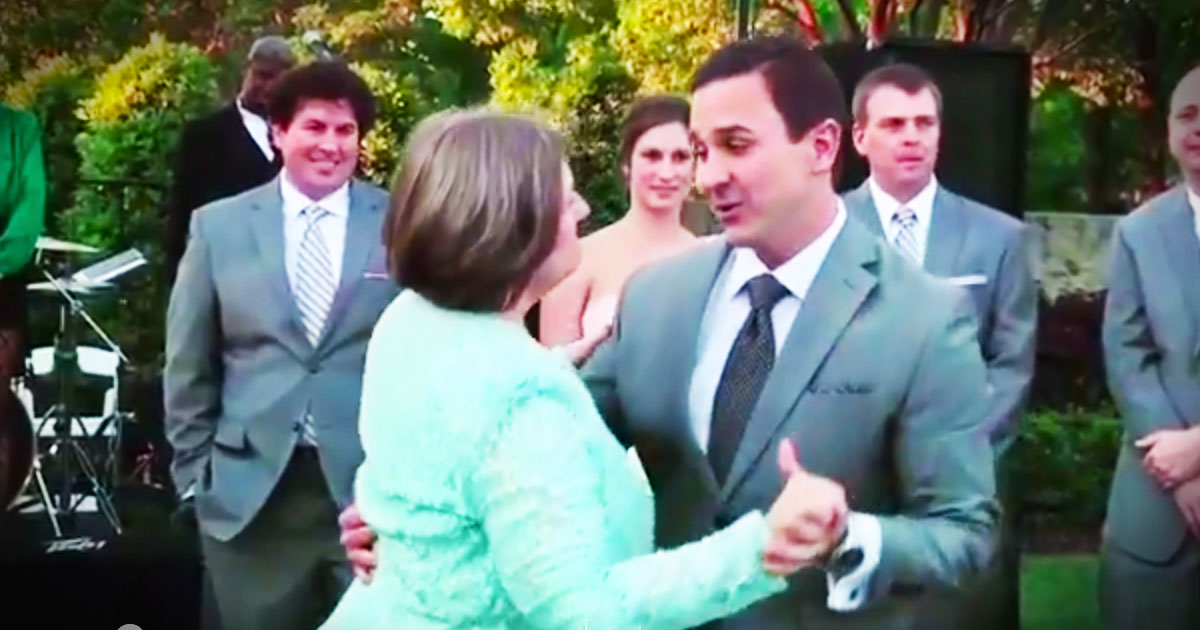 I Just Love Watching Groom's Dance With Their Mothers