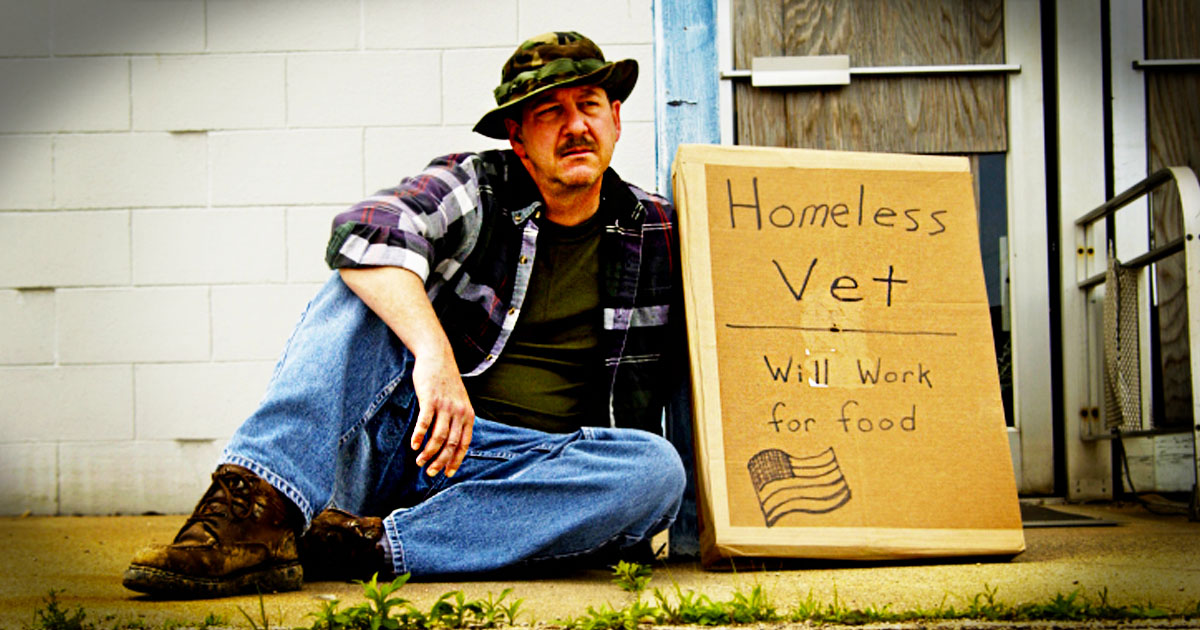 God Used Something Unusual To Heal A Wounded Soldier...Now My Hope Is Restored For Homeless Veterans
