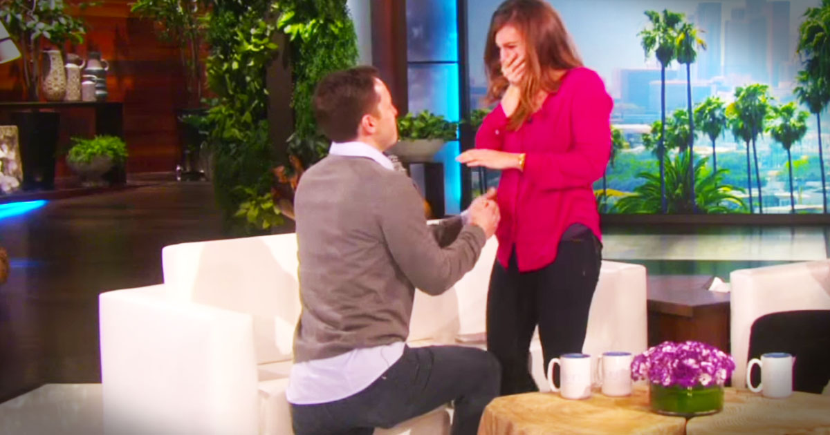 What Happened During This Interview Will Sweep You Off Your Feet--Aww!