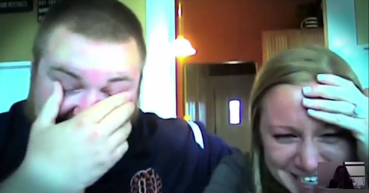 Burger King Has A WHOPPER Of A Surprise For This Couple--LOL!