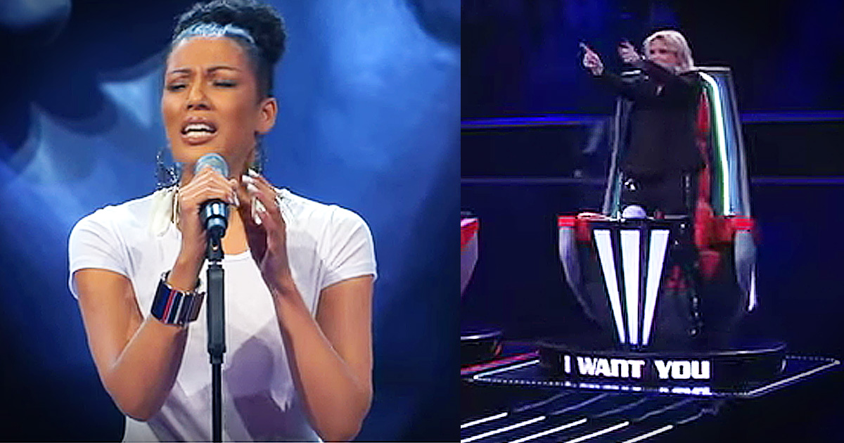 Woman's Audition Wows Judges With Her Parent's Wedding Song