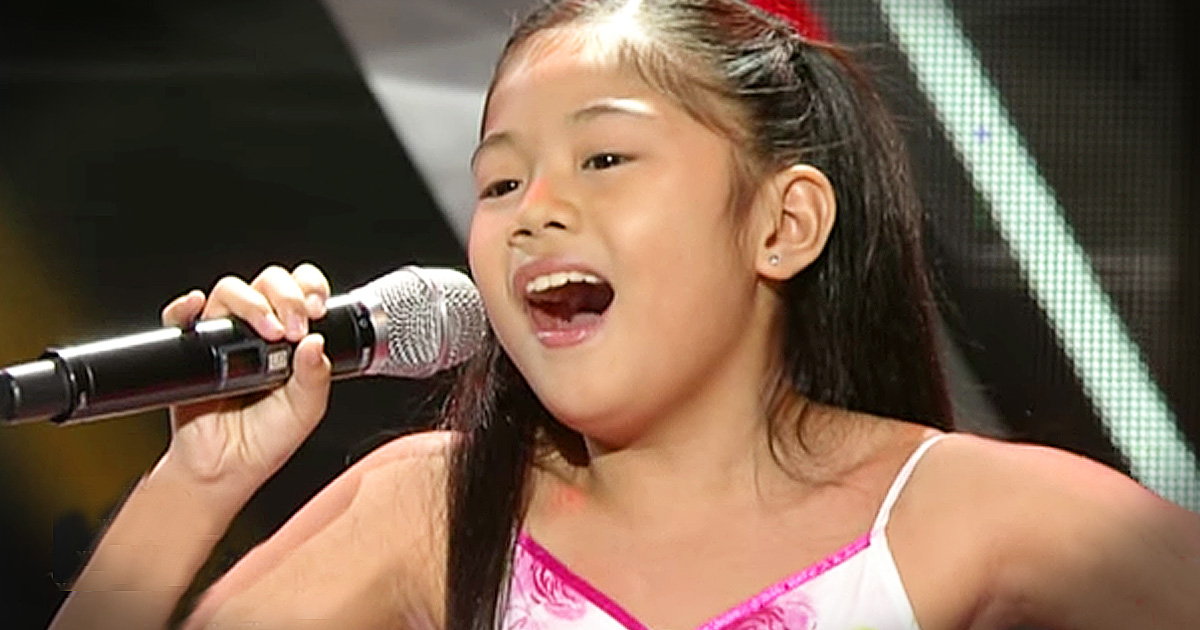 Little Girl's BIG 'Somewhere' Audition Will Wow You