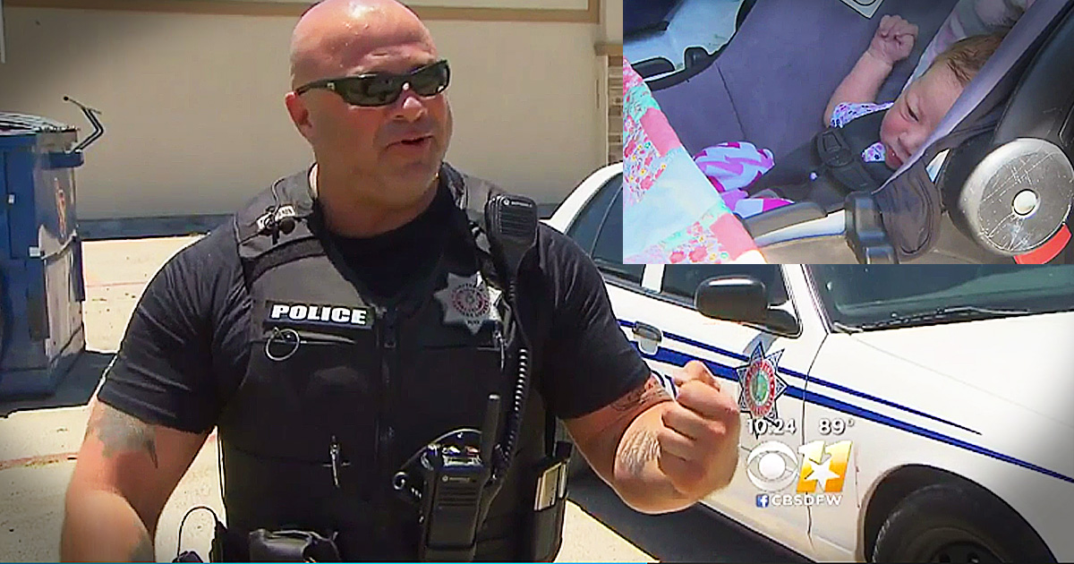 Police Officer's Baby Surprise Is A Beautiful Sign From God