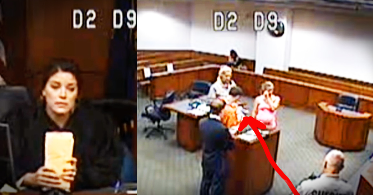 This Judge Let A Prisoner Meet His Baby For The First Time, And The Tears Are Flowing In This Court