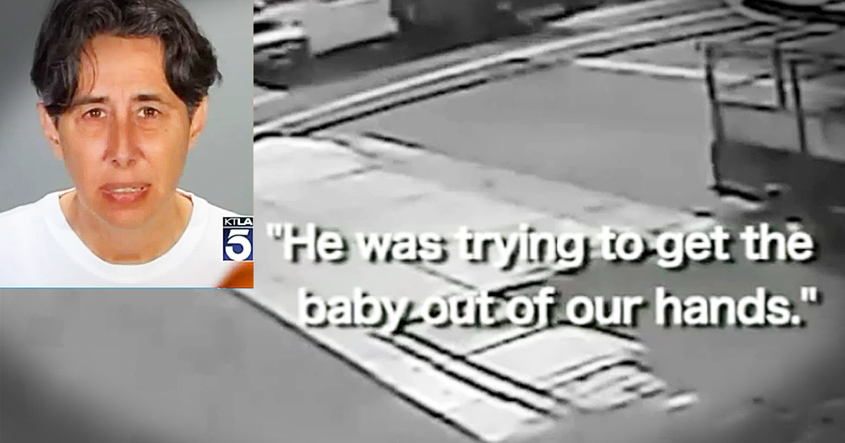 Little Boy Saves Baby Brother From Attempted Kidnapping