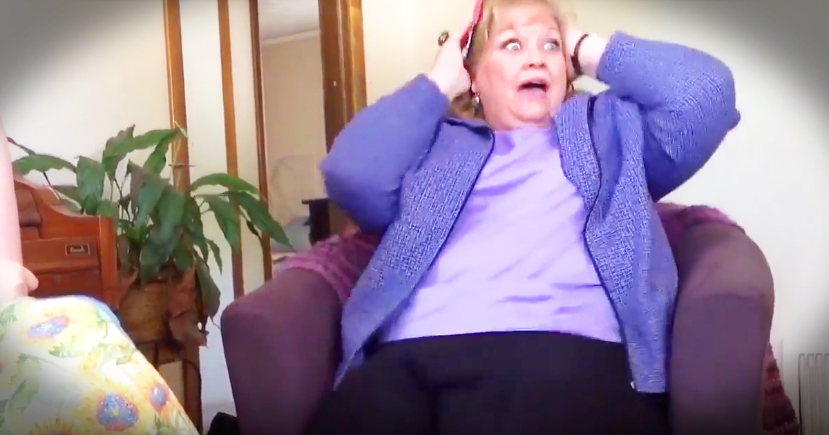 Super Excited Grandma Gets Baby Surprise On Mother's Day