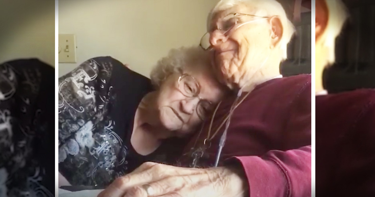Sweet Couple Celebrates Their 70th Anniversary In Most Touching Way
