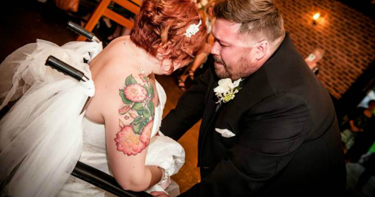 Hospital Staff Throw A Dying Woman The Wedding Of Her Dreams