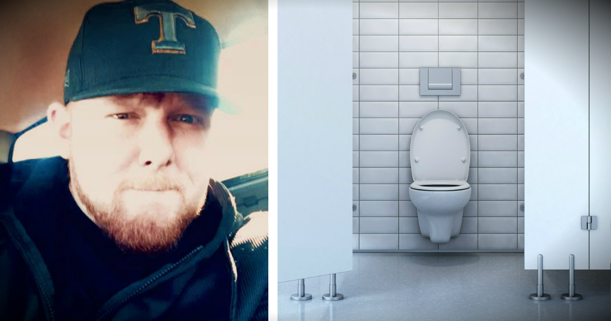 Stuck In Bathroom Man Overhears Teen Making Fun Of Veteran Crying In The