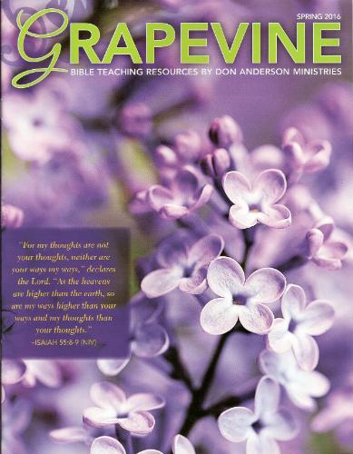 """Grapevine"" Spring 2016"