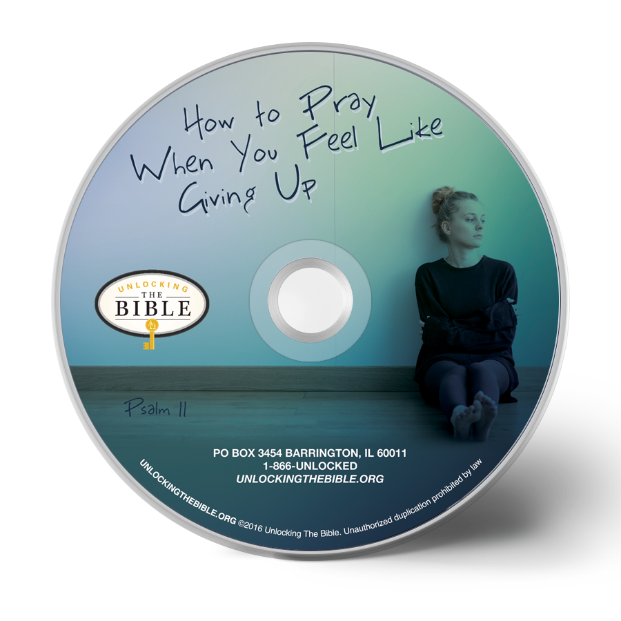 How to Pray When You Feel Like Giving Up Single CD by Colin Smith