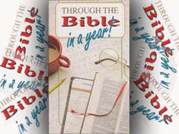 Through the Bible in a Year Pamphlet