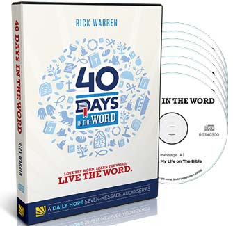 40 Days in the Word Complete Audio