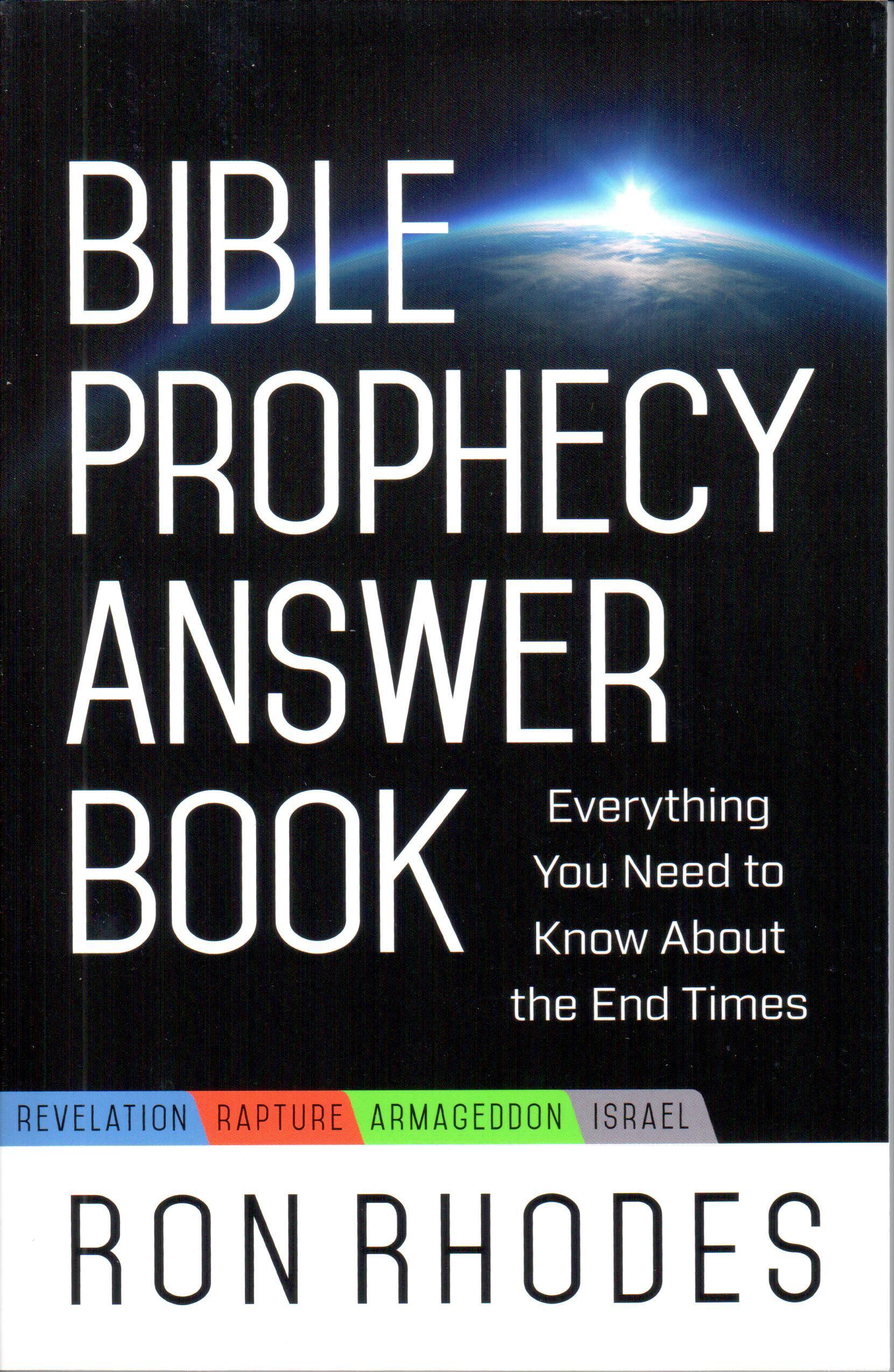 Bible Prophecy Answer Book - BOOK