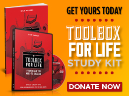 Toolbox For Life Study Kit- 1 DVD & 1 Workbook