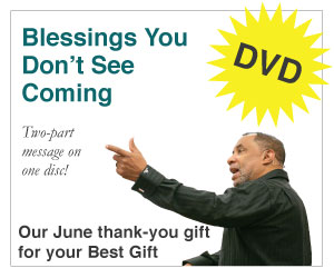 Blessings You Don't See Coming (2-Part DVD Set)